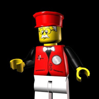 The Character Infomaniac From Lego Island