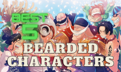 Best Bearded Anime Characters