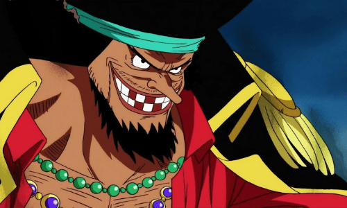 Black Beard from One Piece Best Bearded Anime Characters