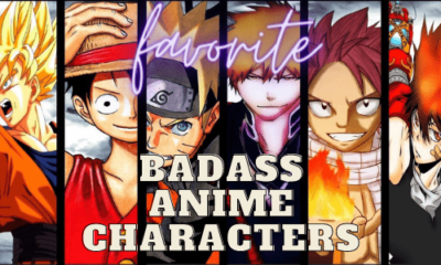 most badass anime characters
