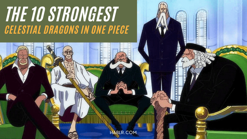 Celestial Dragons in One Piece