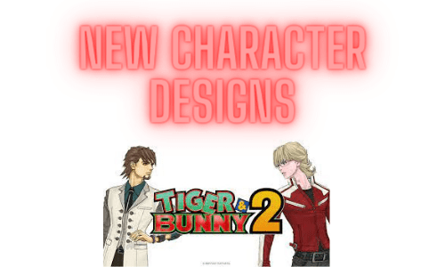Tiger and Bunny characters