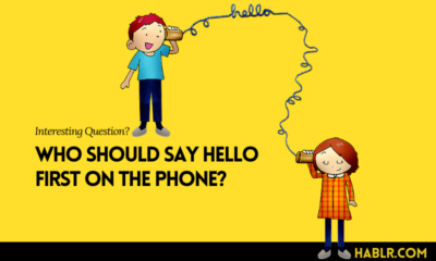 Who Should Say Hello First on the Phone?