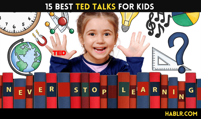 15 BEST TED Talks for KIDS