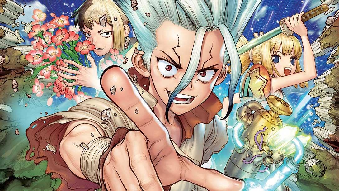 Dr Stone Poster