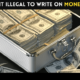 Is it Illegal to Write on Money?