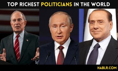 Top 10 Richest Politicians in the World