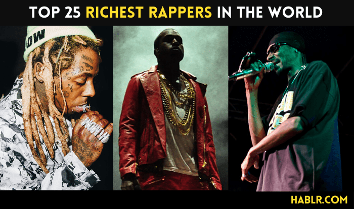 Top 25 Richest Rappers in the World