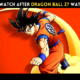 What to watch after Dragon Ball Z? Watch Order