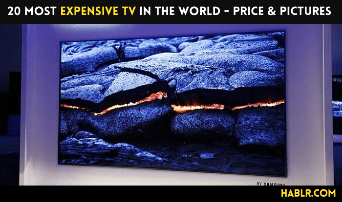 20 Most Expensive TVs in the World