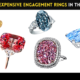 25 Most Expensive Engagement Rings in the World