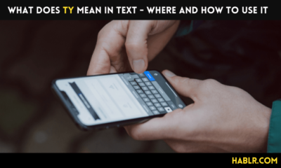 What Does TY Mean In Text - Where and How To Use It