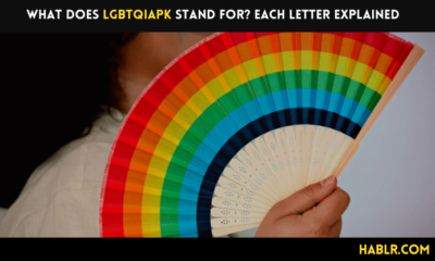 What does LGBTQIAPK stand for? Each Letter Explained