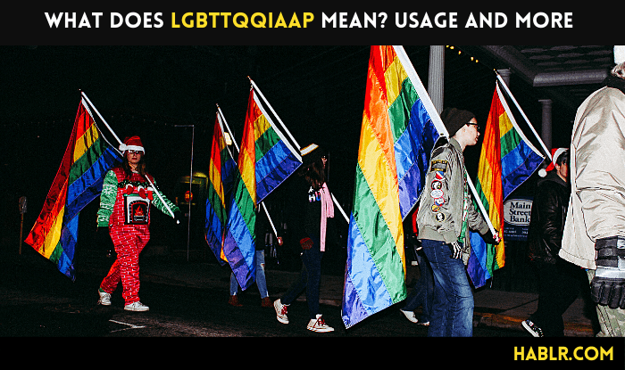 What does LGBTTQQIAAP stand for? Usage and Meaning