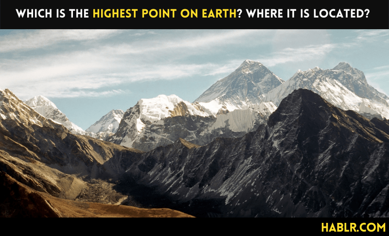 Which is the Highest Point on Earth?